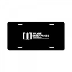 wayne enterprises License Plate | Artistshot