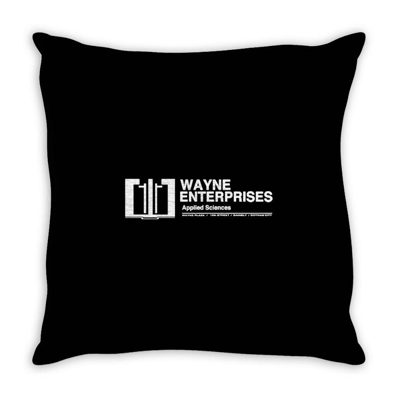 Wayne Enterprises Throw Pillow | Artistshot