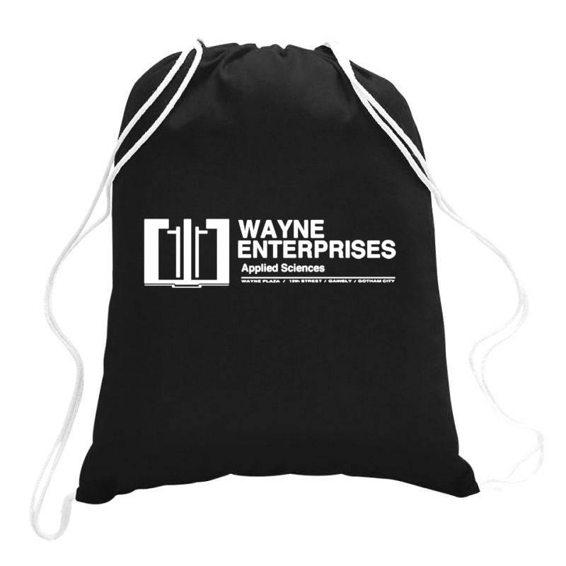 Wayne Enterprises Drawstring Bags | Artistshot