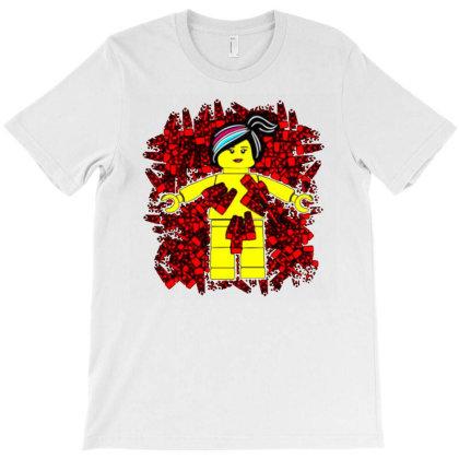 Wyldstyle Beauty Lego T-shirt Designed By Ami Januar