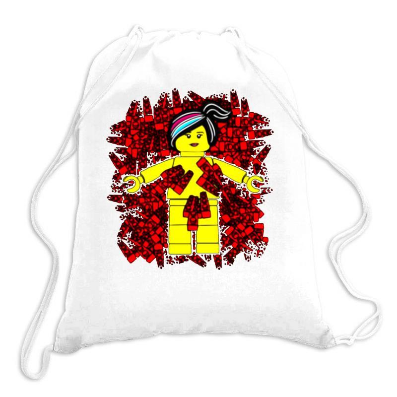 Wyldstyle Beauty Lego Drawstring Bags | Artistshot