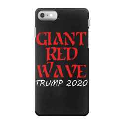 giant red wave coming iPhone 7 Case | Artistshot