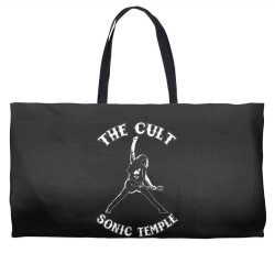 1989 the cult sonic temple tour band rock 80 Weekender Totes | Artistshot
