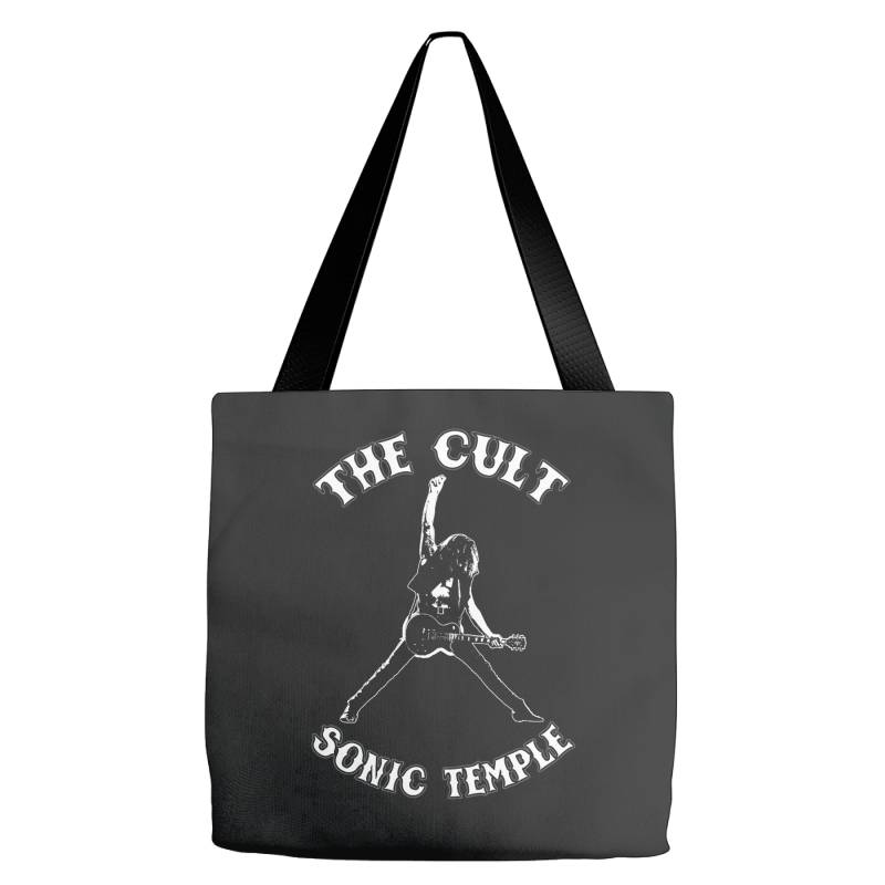 1989 The Cult Sonic Temple Tour Band Rock 80 Tote Bags   Artistshot