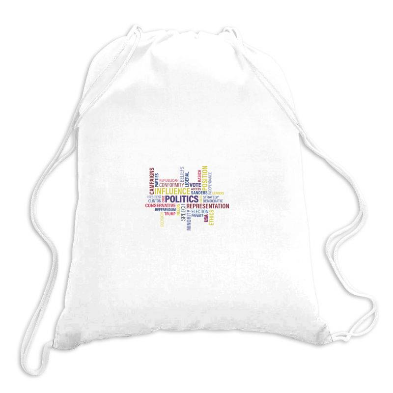 Vote The Change Drawstring Bags | Artistshot