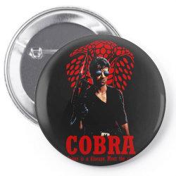 cobra sylvester stallone vintage movie3 Pin-back button | Artistshot