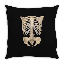 halloween costume skeleton Throw Pillow | Artistshot
