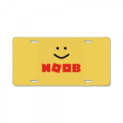 Noob robux License Plate | Artistshot
