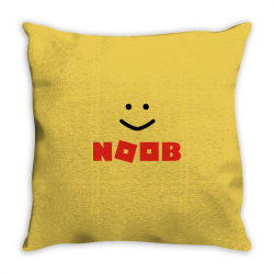 Noob robux Throw Pillow | Artistshot