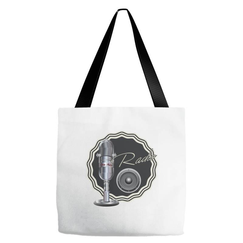 On Air Radio Tote Bags | Artistshot