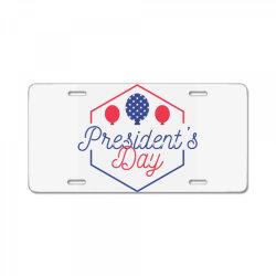 Presidents day, USA, America License Plate | Artistshot