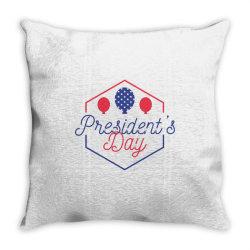 Presidents day, USA, America Throw Pillow | Artistshot