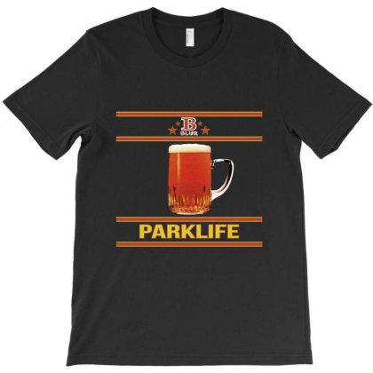 Blur Parklife Cover T-shirt Designed By Ernando