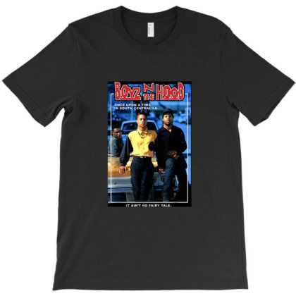 Boyz N The Hood Doughboy And Tre Once Upon A Time Portrait T-shirt Designed By Ernando