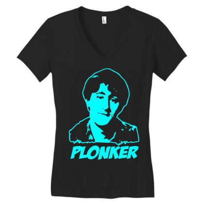 Rodney Trotter Plonker 1 Women's V-neck T-shirt Designed By Enjang