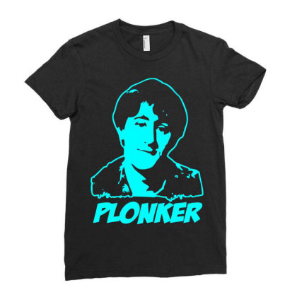 Rodney Trotter Plonker 1 Ladies Fitted T-shirt Designed By Enjang