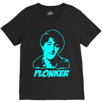Rodney Trotter Plonker 1 V-neck Tee Designed By Enjang