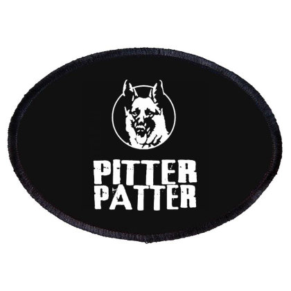 Letterkenny Pitter Patter Oval Patch Designed By Sbonts