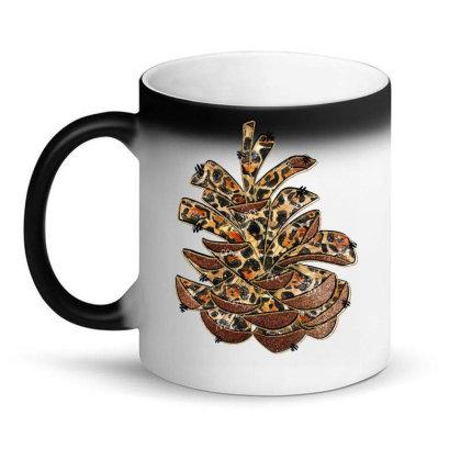 Leopard Pine Cone Magic Mug Designed By Badaudesign