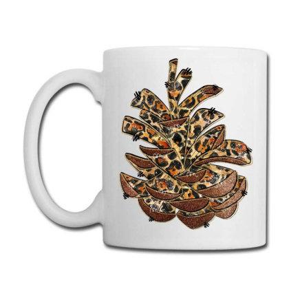 Leopard Pine Cone Coffee Mug Designed By Badaudesign