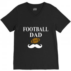 football dad t-shirt V-Neck Tee | Artistshot