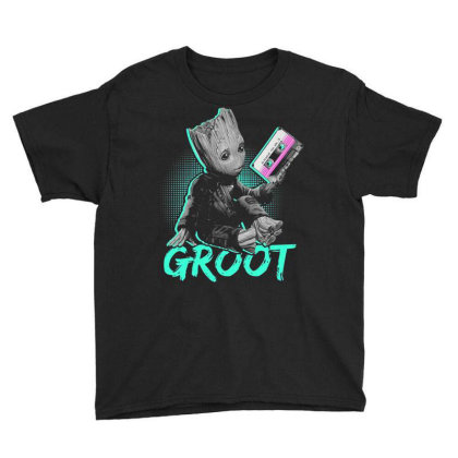 I Am Groot Baby Groot Gurdian Of The Galaxy Funny Youth Tee Designed By Pujangga45