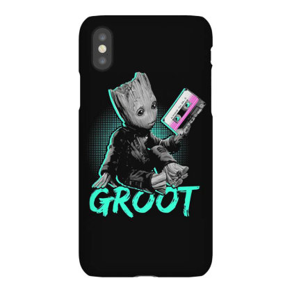 I Am Groot Baby Groot Gurdian Of The Galaxy Funny Iphonex Case Designed By Pujangga45