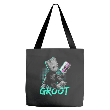 I Am Groot Baby Groot Gurdian Of The Galaxy Funny Tote Bags Designed By Pujangga45