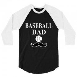 baseball dad t-shirt 3/4 Sleeve Shirt   Artistshot