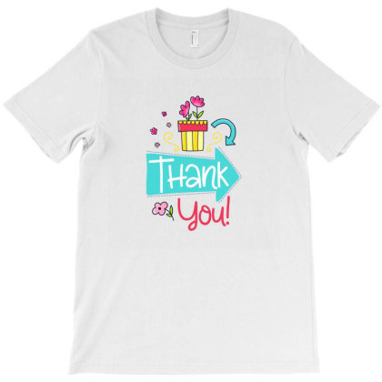 Thank You T-shirt Designed By Chiks