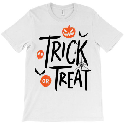 Trick Or Treat T-shirt Designed By Chiks