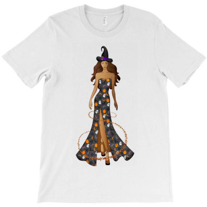 Sexy Halloween Witch T-shirt Designed By Chiks