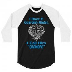 guardian angel grandpa 3/4 Sleeve Shirt | Artistshot