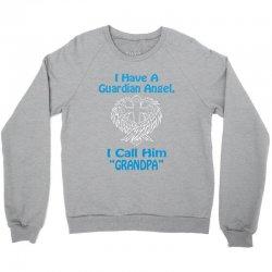 guardian angel grandpa Crewneck Sweatshirt | Artistshot