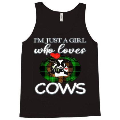 Cow Farm Animal Tank Top Designed By Apollo