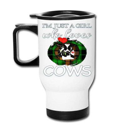 Cow Farm Animal Travel Mug Designed By Alparslan Acar