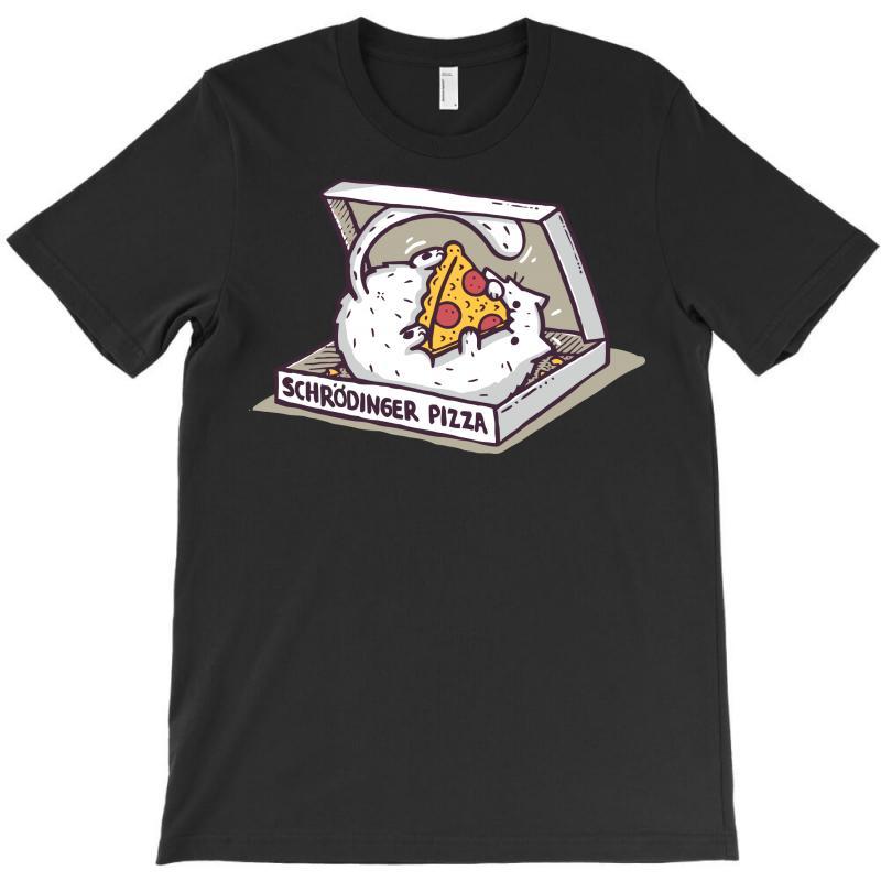 Schrödinger Pizza T-shirt   Artistshot