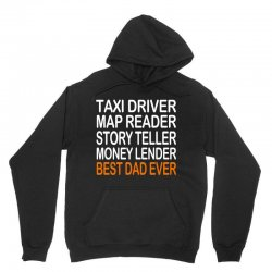 taxi driver best dad ever fathers day birthday christmas present gift Unisex Hoodie | Artistshot