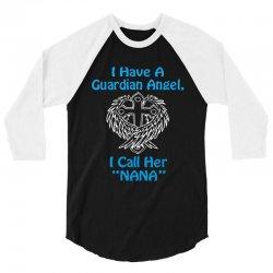 guardian angel nana 3/4 Sleeve Shirt | Artistshot