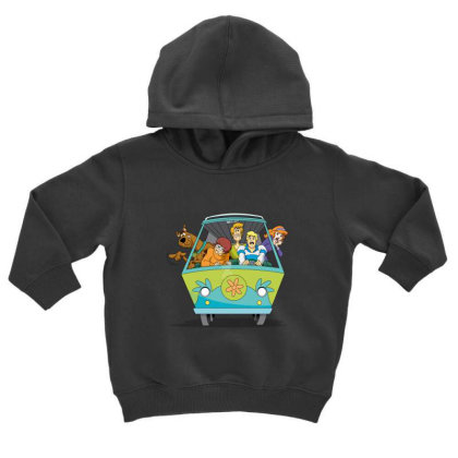 Scooby Doo Family Toddler Hoodie Designed By Coşkun