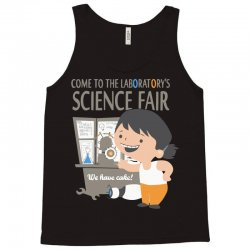 come to the laboratory science fair Tank Top | Artistshot