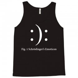 schrodinger's emoticon Tank Top   Artistshot