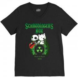 schrodinger's box V-Neck Tee | Artistshot