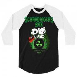 schrodinger's box 3/4 Sleeve Shirt | Artistshot