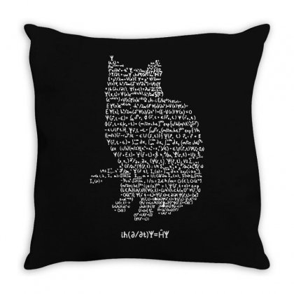 Cats Equation Throw Pillow Designed By Mdk Art