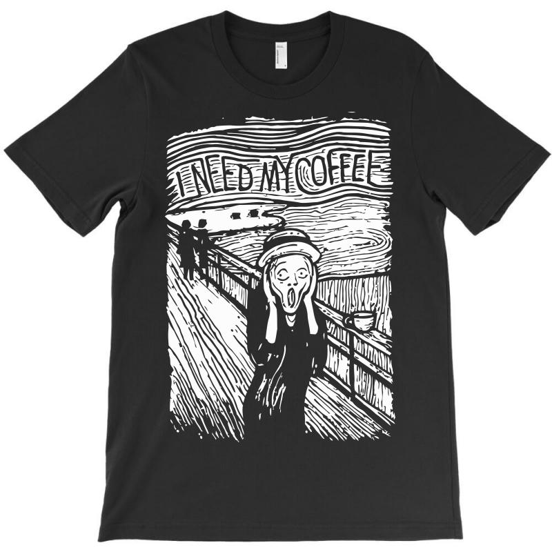 Scream For Coffee T-shirt | Artistshot