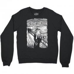 scream for coffee Crewneck Sweatshirt | Artistshot