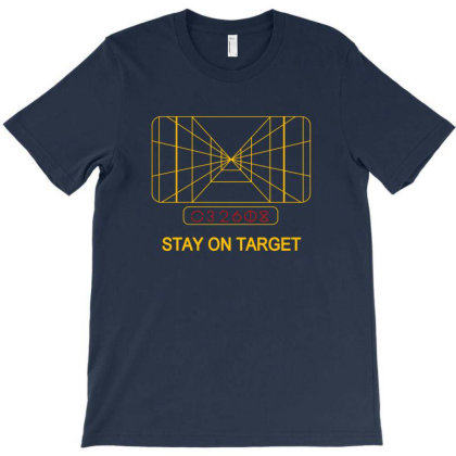 Stay On Target 1977 Targeting Computer T-shirt Designed By Agus Loli