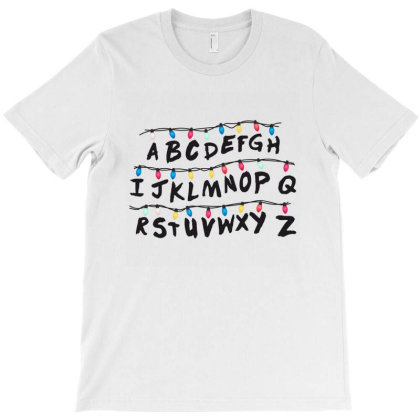 Stranger Things Movie Merch T-shirt Designed By Agus Loli