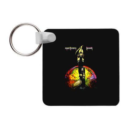 Nazareth Expect No Mercy Rock Band Legend1 Frp Square Keychain Designed By Pujangga45